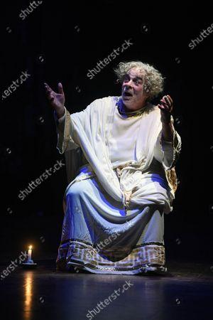 Editorial photo of Nervous crisis 3 pranks by Anton P. Chekhov, Theater de l Atelier, Paris, France - 20 Sep 2020