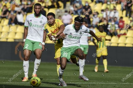 Editorial image of Foot Nantes versus St Etienne, La Beaujoire Stadium, Nantes, France - 20 Sep 2020