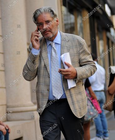 Stock Photo of Author, Paolo Del Debbio walks through the streets of the center.