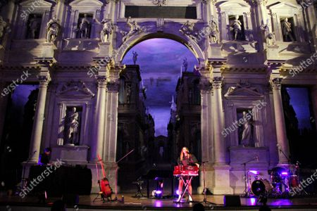 Editorial picture of Francesca Michielin in concert, Olympic Theater, Vicenza, Italy - 18 Sep 2020