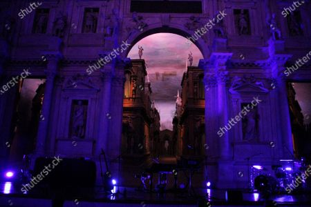 Editorial photo of Francesca Michielin in concert, Olympic Theater, Vicenza, Italy - 18 Sep 2020