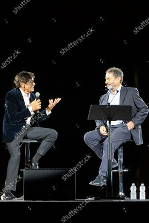 Editorial image of Interview with Gianni Morandi and Michele Serra, Festival of Beauty, Verona, Italy - 19 Sep 2020