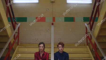 Zoe Levin as Tiff and Brendan Scannell as Pete