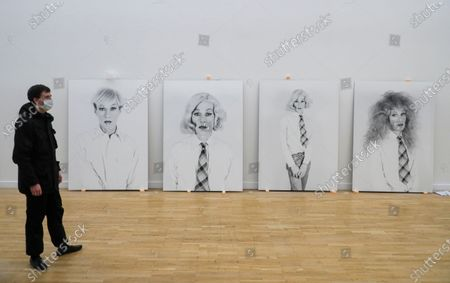 Editorial image of Installation of the exhibition 'Me, Andy Warhol' in Moscow, Russian Federation - 21 Sep 2020