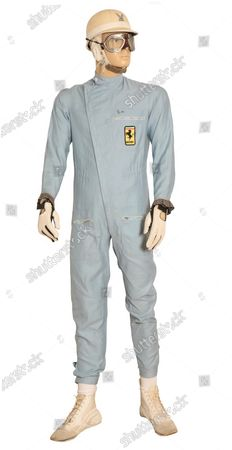 Also included in the specialist sale is a race suit worn by Sir Stirling Moss which carries an estimate of £15,000.   A Ferrari F1 simulator has been put up for sale to give wannabe racing drivers the chance to take part in a Grand Prix from the comfort of their own living room.  The device replicates the feeling of being behind the wheel of a Formula 1 car from behind three large screens.