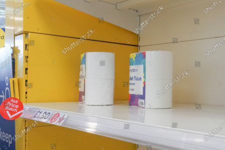 Toilet rolls nearly sold out in Tesco supermarket in Sheffield. In supermarkets across the country, there is a fear that the second wave of the pandemic is approaching, after a spike in coronavirus cases in the UK.
