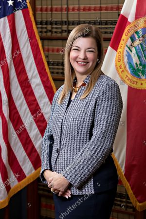 Stock Picture of Circuit Judge Barbara Lagoa, of the United States Court of Appeals for the Eleventh Circuit, is shown in this official undated photo released by the Florida Supreme Court