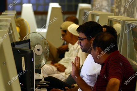 Redakční fotka na téma Pakistani Stock Exchange, Karachi, Pakistan - 21 Sep 2020