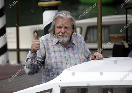 """Actor Michael Lonsdale arrives at the 69th edition of the Venice Film Festival in Venice, Italy. Michael Lonsdale, a French-British actor and giant of the silver screen and theatre in France, died on Monday, his agent said. From his role as villain in the 1979 James Bond film """"Moonraker"""" to that of a monk in Algeria in """"Of Gods and Men,"""" Lonsdale worked, often in second roles, with top directors from Orson Wells to Spielberg"""