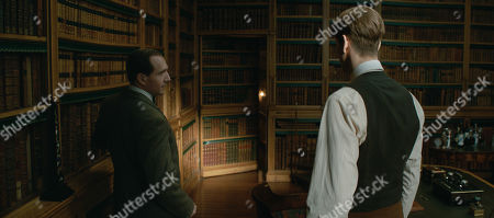 Ralph Fiennes as Duke of Oxford and Harris Dickinson as Conrad