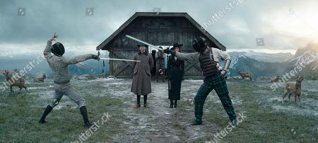 Stock Picture of Daniel Bruhl as Erik Jan Hanussen and Valerie Pachner as Mata Hari