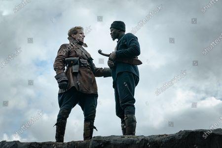 Ralph Fiennes as Duke of Oxford and Djimon Hounsou as Shola