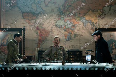 Daniel Bruhl as Erik Jan Hanussen, Tom Hollander as Kaiser Wilhelm and Matthew Vaughn Director