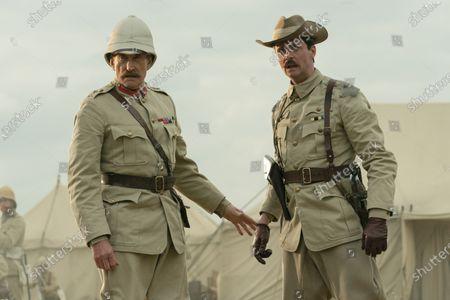 Charles Dance as General Kitchener and Matthew Goode as Captain Morton