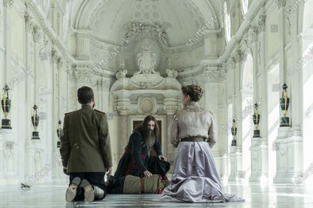 Tom Hollander as Tsar Nicholas II, Rhys Ifans as Rasputin and Branka Katic as Tsarina Alix
