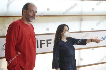 Stock Photo of Luca Guadagnino during 68th San Sebastian International Film Festival at Kursaal Palace in Donostia, San Sebastian, Spain
