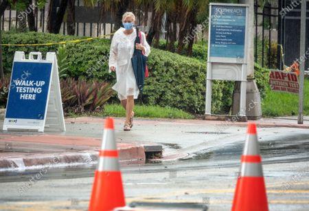 Editorial image of COVID-19 in Florida, Miami Beach, USA - 21 Sep 2020