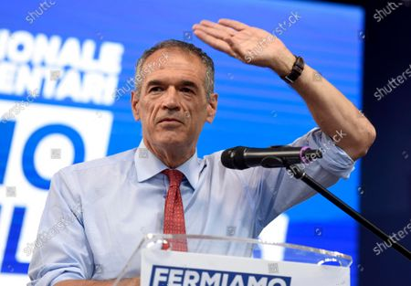 Editorial image of NO in the referendum public meeting, Milan, Italy - 12 Sep 2020