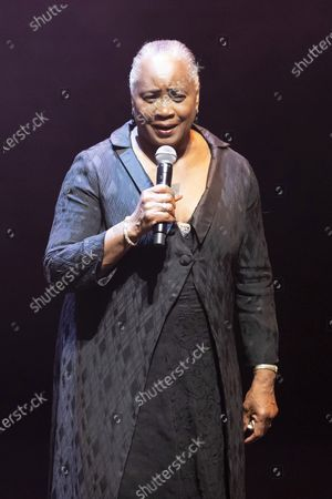 Editorial photo of Barbara Hendricks concert 'The Road to Freedom', Palais des Festivals, Cannes, France - 20 Sep 2020