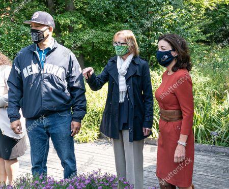 Editorial photo of LG Kathy Hochul tours New York Botanical Garden, United States - 21 Sep 2020