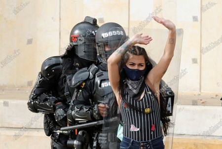 Anti-government protests, Colombia