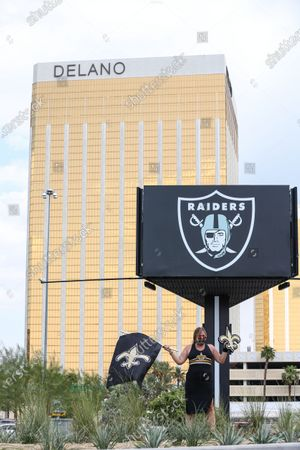 Editorial picture of NFL Saints vs Raiders, USA - 21 Sep 2020