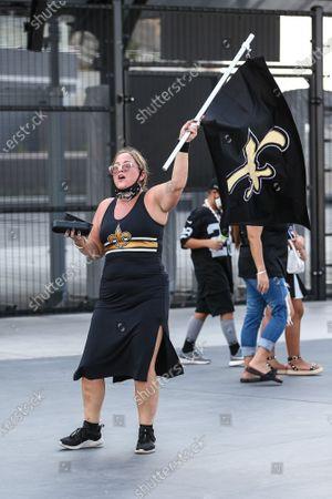 Editorial photo of NFL Saints vs Raiders, USA - 21 Sep 2020