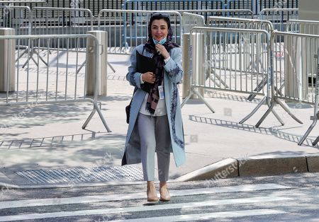 Ambassador Adela Raz is the Permanent Representative of the Islamic Republic of Afghanistan. Historical and empty UN at the high-level meeting of the General Assembly to commemorate the seventy-fifth anniversary of the United Nations today at the UN Headquarters