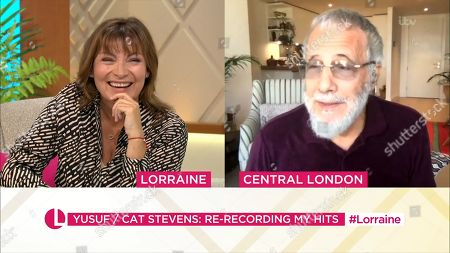 Editorial image of 'Lorraine' TV Show, London, UK - 22 Sep 2020