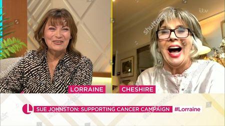 Stock Photo of Lorraine Kelly, Sue Johnston