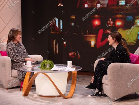 Stock Image of Lorraine Kelly, Charlotte Ritchie