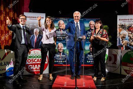 Editorial image of Eugenio giani Election celebration, Tuscany, Italy, Florence - 21 Sep 2020