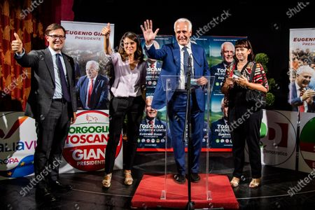 Editorial picture of Eugenio giani Election celebration, Tuscany, Italy, Florence - 21 Sep 2020