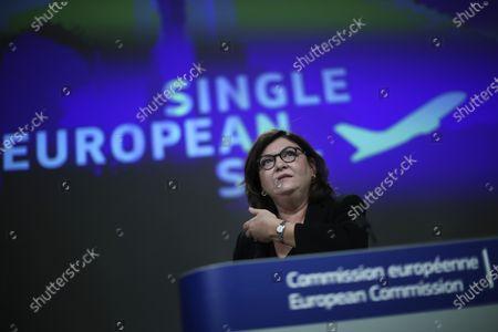 Editorial picture of EU Single Sky, Brussels, Belgium - 22 Sep 2020