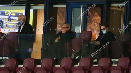 Stock Picture of David Sullivan  (centre) joint West Ham Chairman