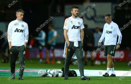 Michael Carrick first-team coach of  Manchester United