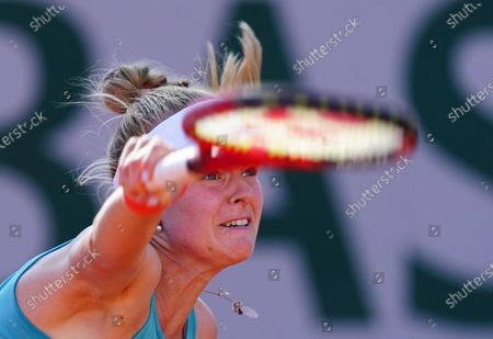 Editorial photo of French Open Tennis, Tuesday Peviews, Roland Garros, Paris, France - 22 Sep 2020