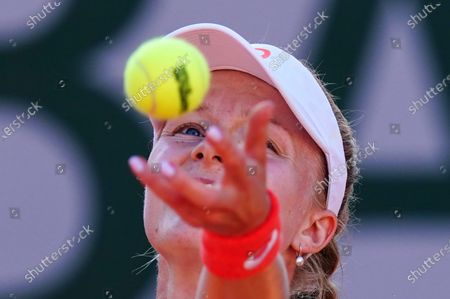 Editorial image of French Open Tennis, Tuesday Peviews, Roland Garros, Paris, France - 22 Sep 2020