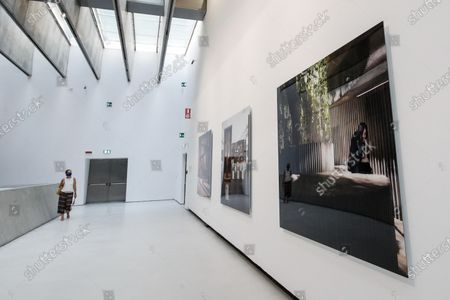 Press preview of the exhibition 'Isaac Julien. Lina Bo Bardi - A Marvellous Entanglement' at the MAXXI, The National Museum of XXI Century Arts in Rome, Italy, 22 September 2020.