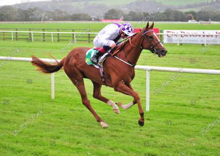 Stock Photo of LISTOWEL. AGITARE and Kevin Manning win The Jet & Peggy O´Carroll Memorial (C&G) Maiden. Healy Racing