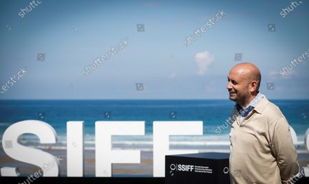 Antonio Mendez Esparza during the presentation of film 'Courtroom H3' at the 68th annual San Sebastian International Film Festival (SSIFF), in San Sebastian, Spain, 22 September 2020. The film festival will run from 18 to 26 September 2020 under safety measures like obligatory face mask use and red carpets without public due to the Covid-19 coronavirus pandemic. Organizers have also reduced the number of film screenings as well as the seating capacity in cinemas.