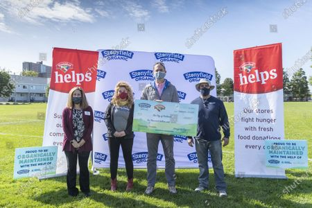 Editorial picture of Fox Field at Kennedy Park Check Presentation, Portland, United States - 21 Sep 2020