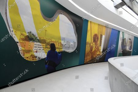 Editorial photo of 'Lina Bo Bardi - A Wonderful Tangle' exhibition by Isaac Julien, MAXXI Museum, Rome, Italy - 22 Sep 2020