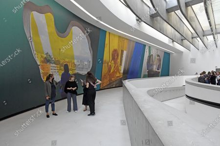 Stock Picture of 'Lina Bo Bardi - A Wonderful Tangle' by the British artist and filmmaker Isaac Julien recounts, in a video installation and a series of photographs, the life and ideas of the great Italian-Brazilian architect