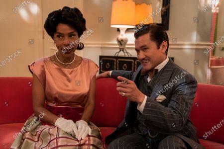 Sophie Okonedo as Charlotte Wells and Jon Jon Briones as Dr. Richard Hanover