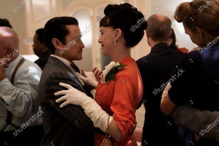 Stock Image of Jon Jon Briones as Dr. Richard Hanover and Judy Davis as Nurse Betsy Bucket
