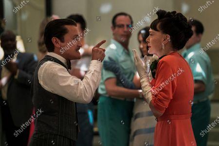 Jon Jon Briones as Dr. Richard Hanover and Judy Davis as Nurse Betsy Bucket