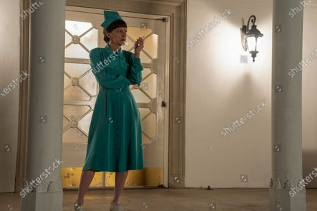 Stock Image of Judy Davis as Nurse Betsy Bucket