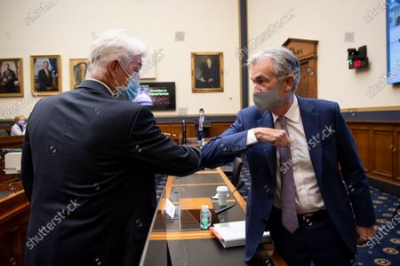 Editorial photo of Federal Reserve Powell, Washington, United States - 22 Sep 2020
