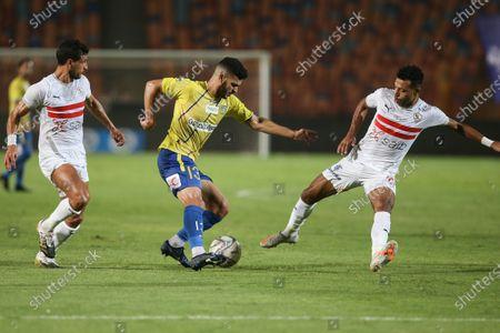 Editorial image of Zamalek vs Tanta, Cairo, Egypt - 22 Sep 2020
